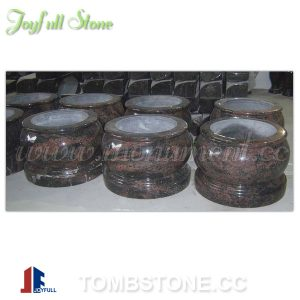 Cemetery urns and vases
