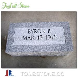 Flat stone markers