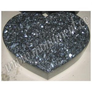 Blue Pearl granite monument