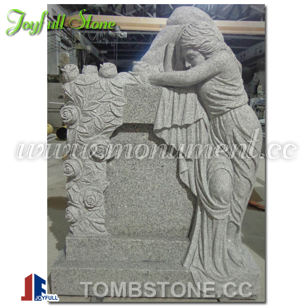 MS-018F angel tombstone