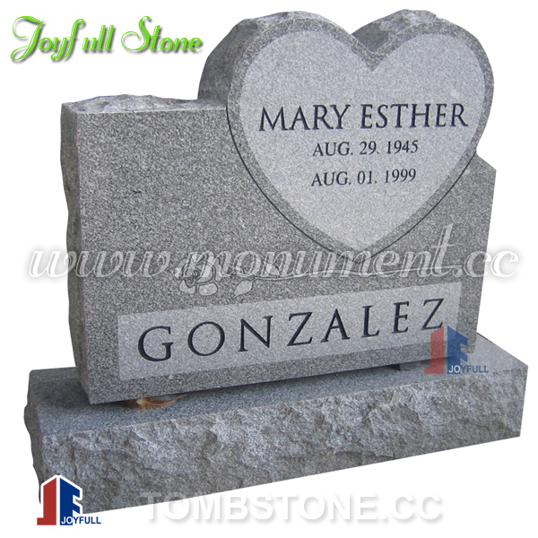 grey granite headstones